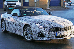 2019 BMW Z4 Starts Dropping Camouflage As Debut Edges Closer