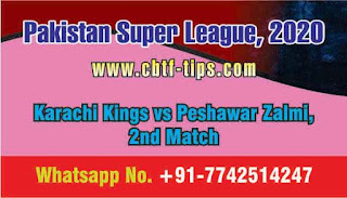 Who will win Today 2nd match PES vs KAR PSL 2020