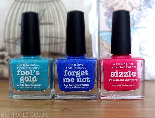 piCture pOlish Collaboration Shades 2014
