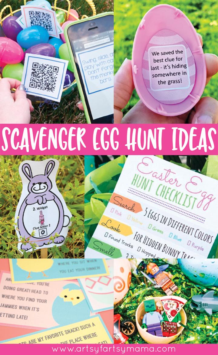 Creative Easter Egg Scavenger Hunt Ideas