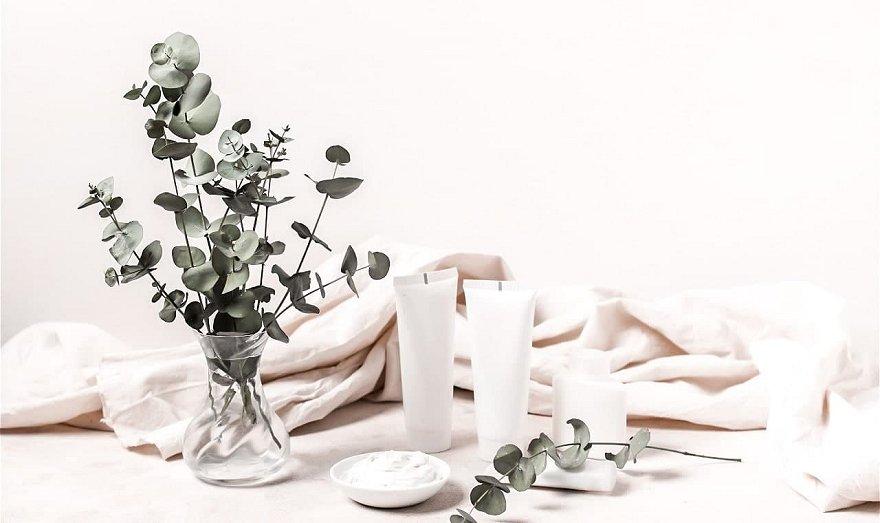 Exfoliante para el cuerpo con aceite esencial de eucalipto