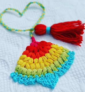 oh-so-crochet favorite finds rainbow peacock