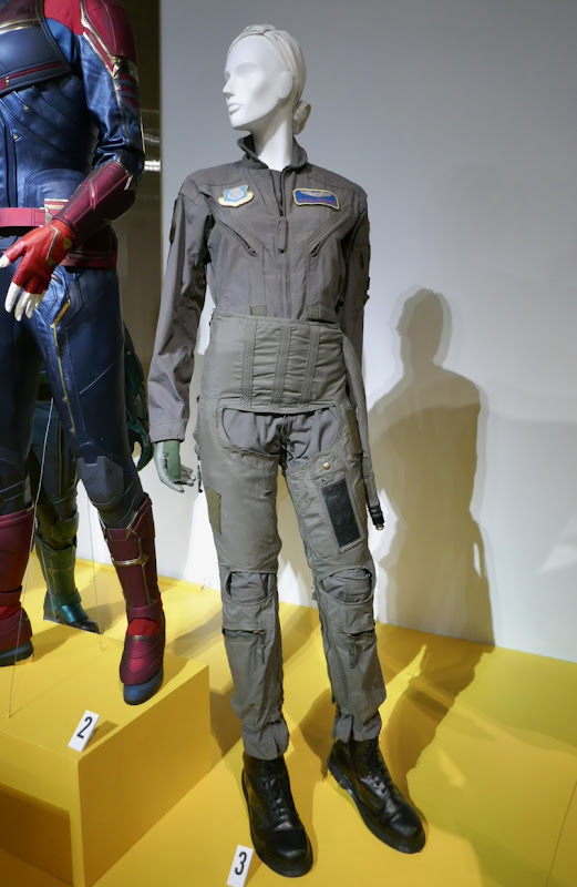 Brie Larson Captain Marvel Carol Danvers USAF flight suit