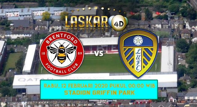 Prediksi Pertandingan Brentford Vs Leeds United 12 Februari 2020