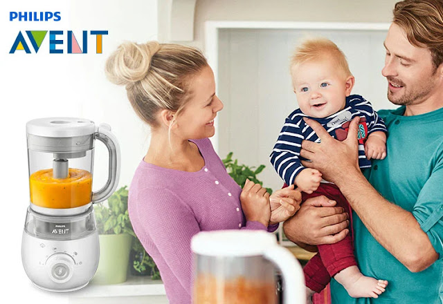 Philips Avent 4 in 1 Healthy Steam