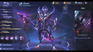 Zhask Mobile Legends, Hero Mage yang Bisa Hancurkan Tower Tanpa Minions