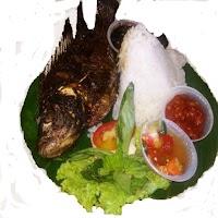 Ikan Nila Bakar plus Nasi