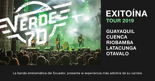 conciertos de Verde 70 Ecuador