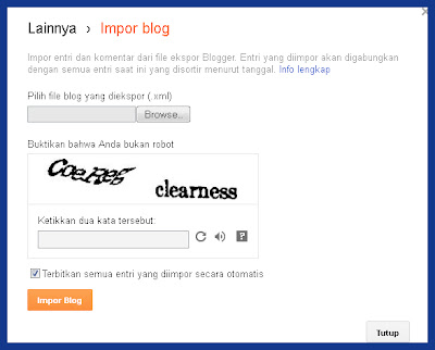 Cara Gabung Blog di Blogger