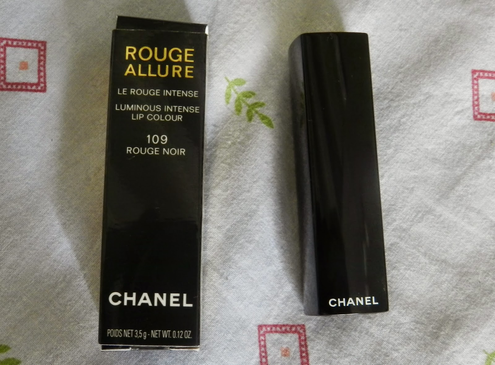 Chanel Rouge Allure Rouge Noir