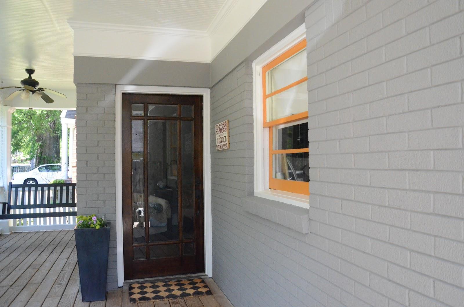 Exterior House Colors: Mason Jar Champagne: House Paint Reveal