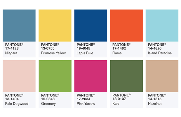 Cores do Ano Pantone 2017