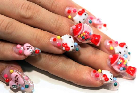 3d Movie Image 3d Nail Design