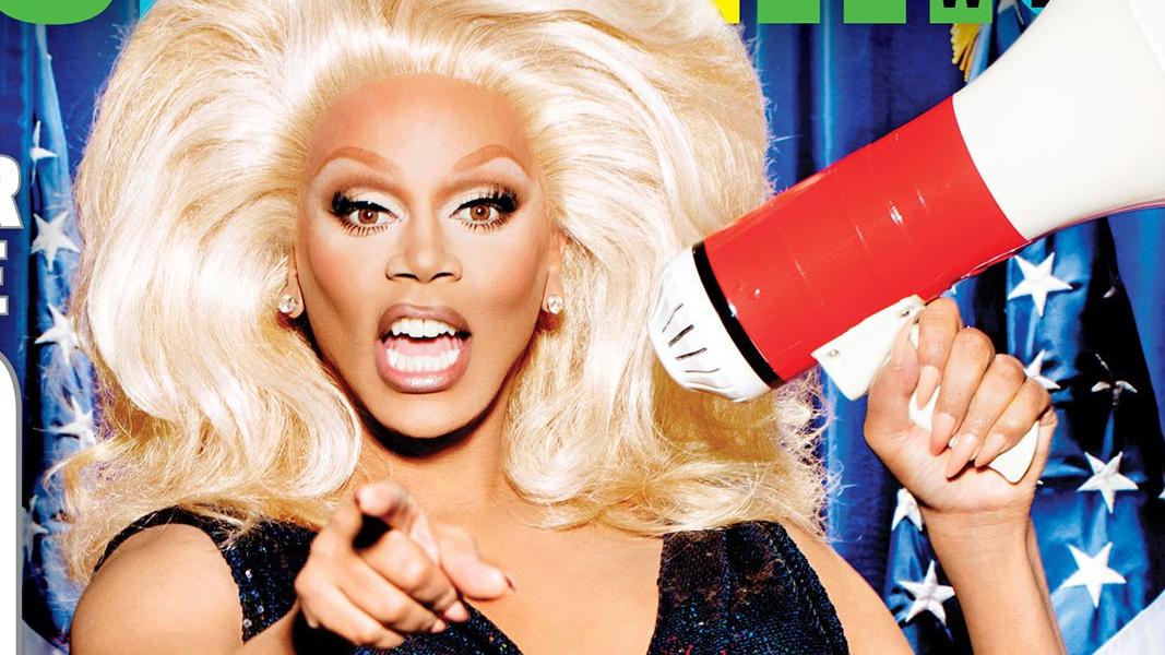 Deus é uma drag queen negra