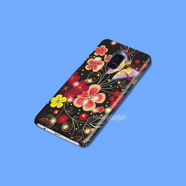 Contoh Mockup Case Samsung Galaxy A8