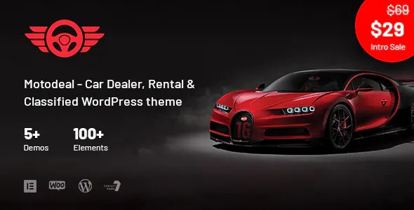 Best Car Dealer & Classified WordPress Theme