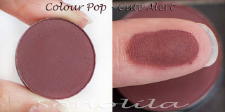 Cute Alert  - Pressed Eyeshadow Colour Pop