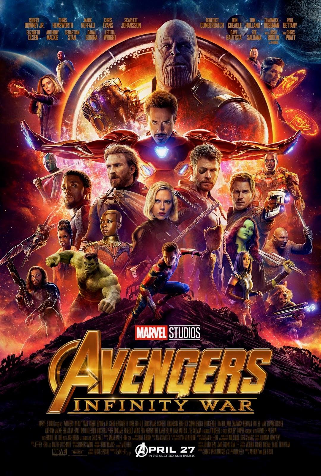 Marvel Avengers Infinity War poster