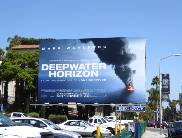 Deepwater Horizon movie billboard