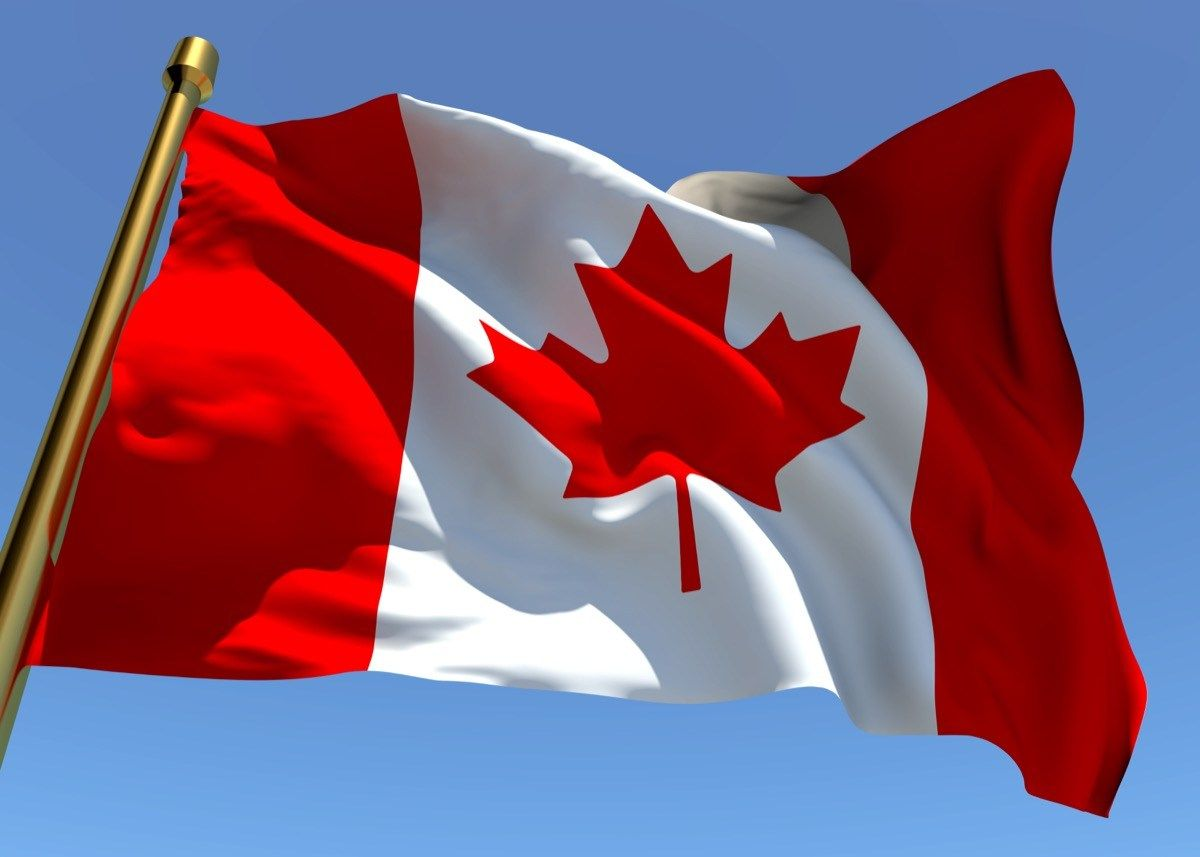 happy canada day 2020  flags