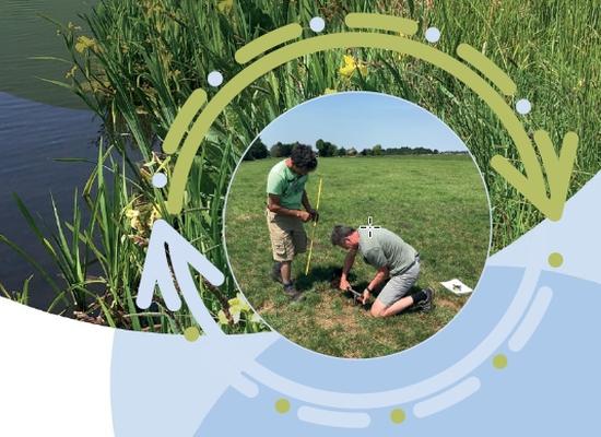 Foto uitsnede cover Verbeteren waterkwaliteit door landbouwmaatregelen ter reductie van nutriëntenbelasting in veenweidegebieden