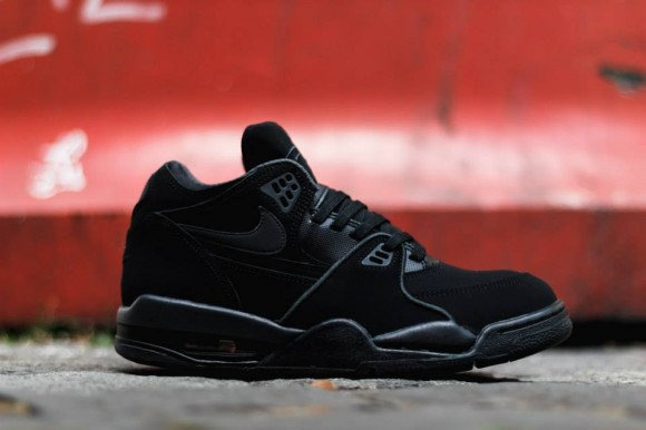 super popular 907a7 a5078 All black nubuck and suede lend themselves to the upper and quarters of the  shoe with a matching blacked out bottom sole. You can look for these to  start ...