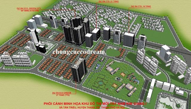 Quy hoạch tổng thể dự án chung cư Eco Dream City