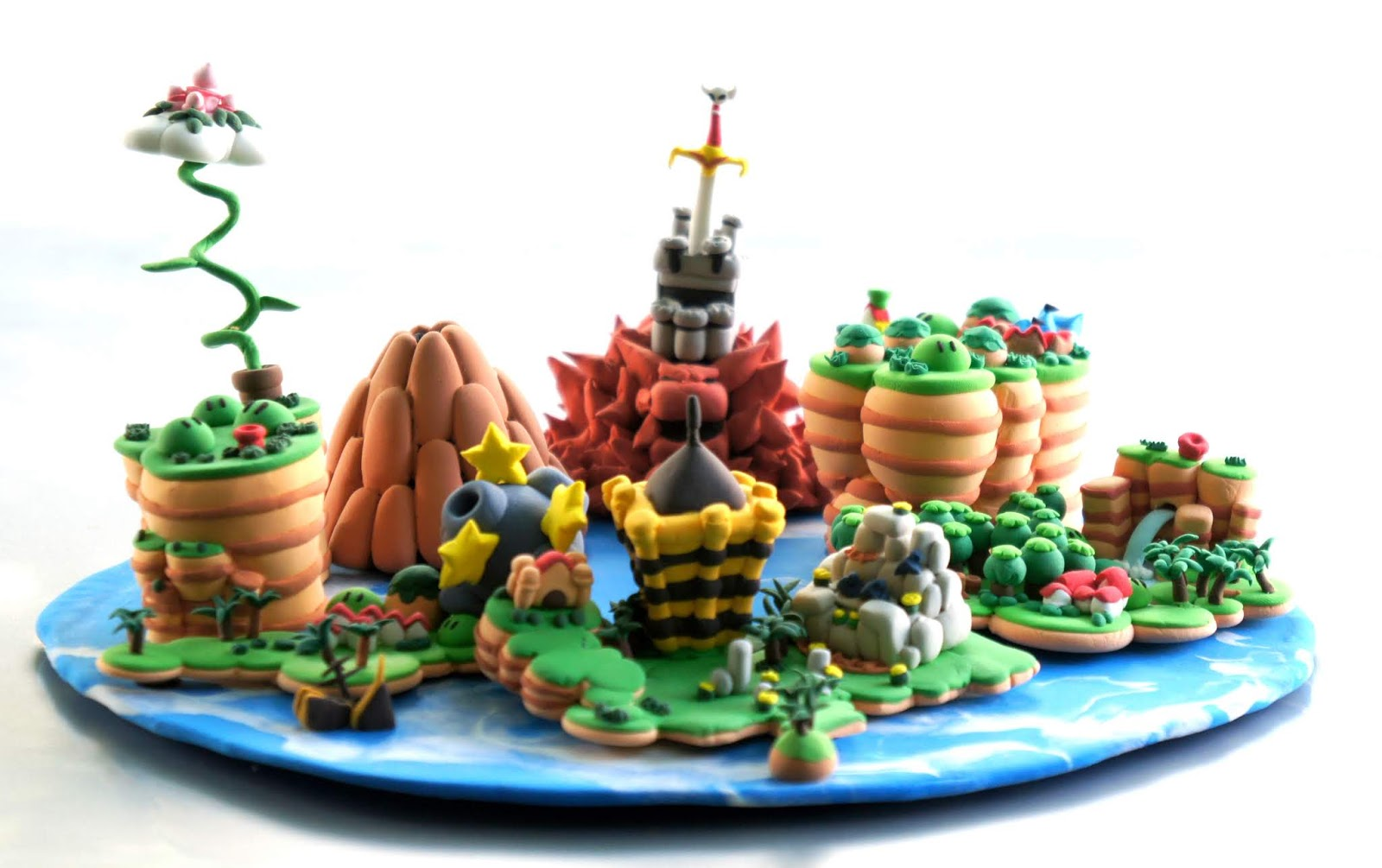 All About Kirby Zelda And Mario Rpg Map Model Clay Karnclaypark
