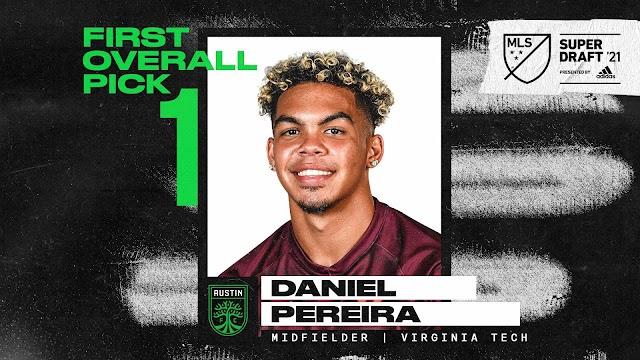 Venezolano Daniel Pereira es el primer elegido en el SuperDraft de la MLS
