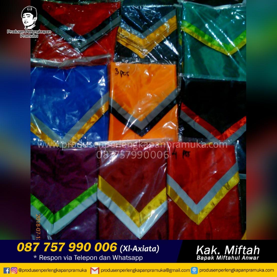 WA : +62 877-5799-0006 Jual Scarf Pramuka Bogor | Grosir Scarf Pramuka Bogor | Produsen Scarf Pramuka Bogor