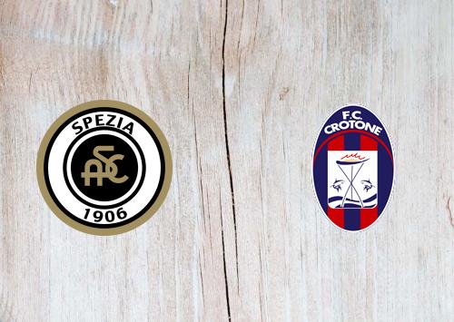 Spezia vs Crotone -Highlights 10 April 2021