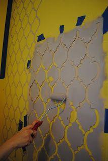Трафарет - это лист из пластика, фанеры, плёнки, бумаги или другого материала, на котором прорезаны символы, буквы, узоры и так далее