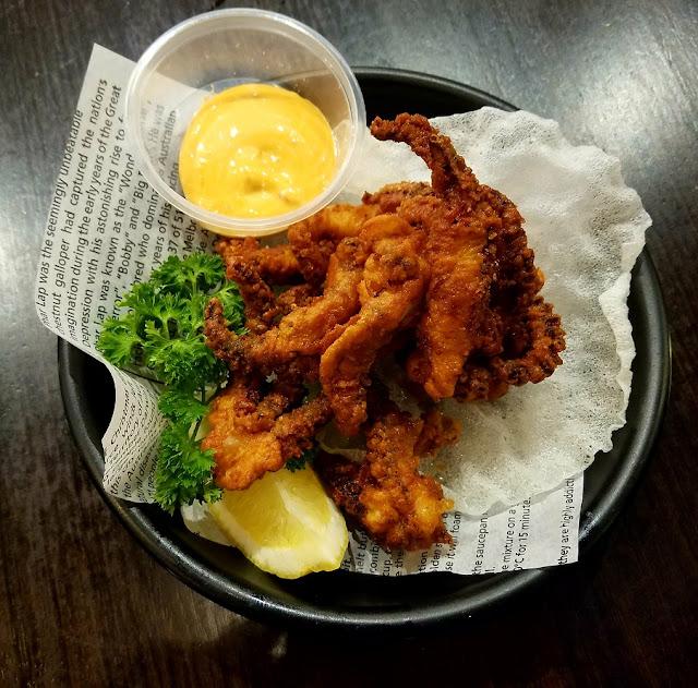 Ichi Ramen, Box Hill, deep fried calamari