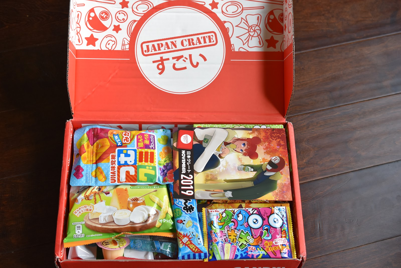 Video: Japan Crate November Snacks and Candy Box Review