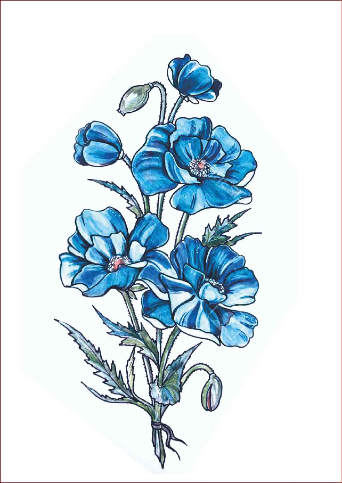 85 Gambar Kartun Bunga Cantik Hd Terbaik Gambar Kantun