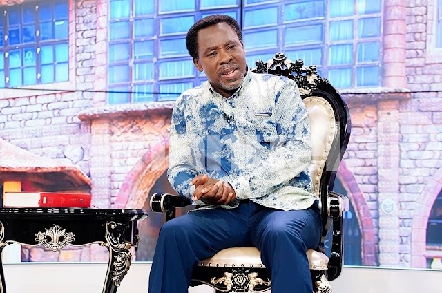 T.B. Joshua  Healed COVID-19  Couple in US, Others Via Video Calls on Emmanuel TV