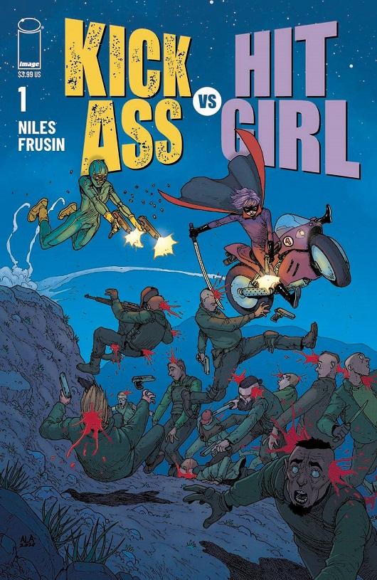 Cover of Kick-Ass vs Hit-Girl #1