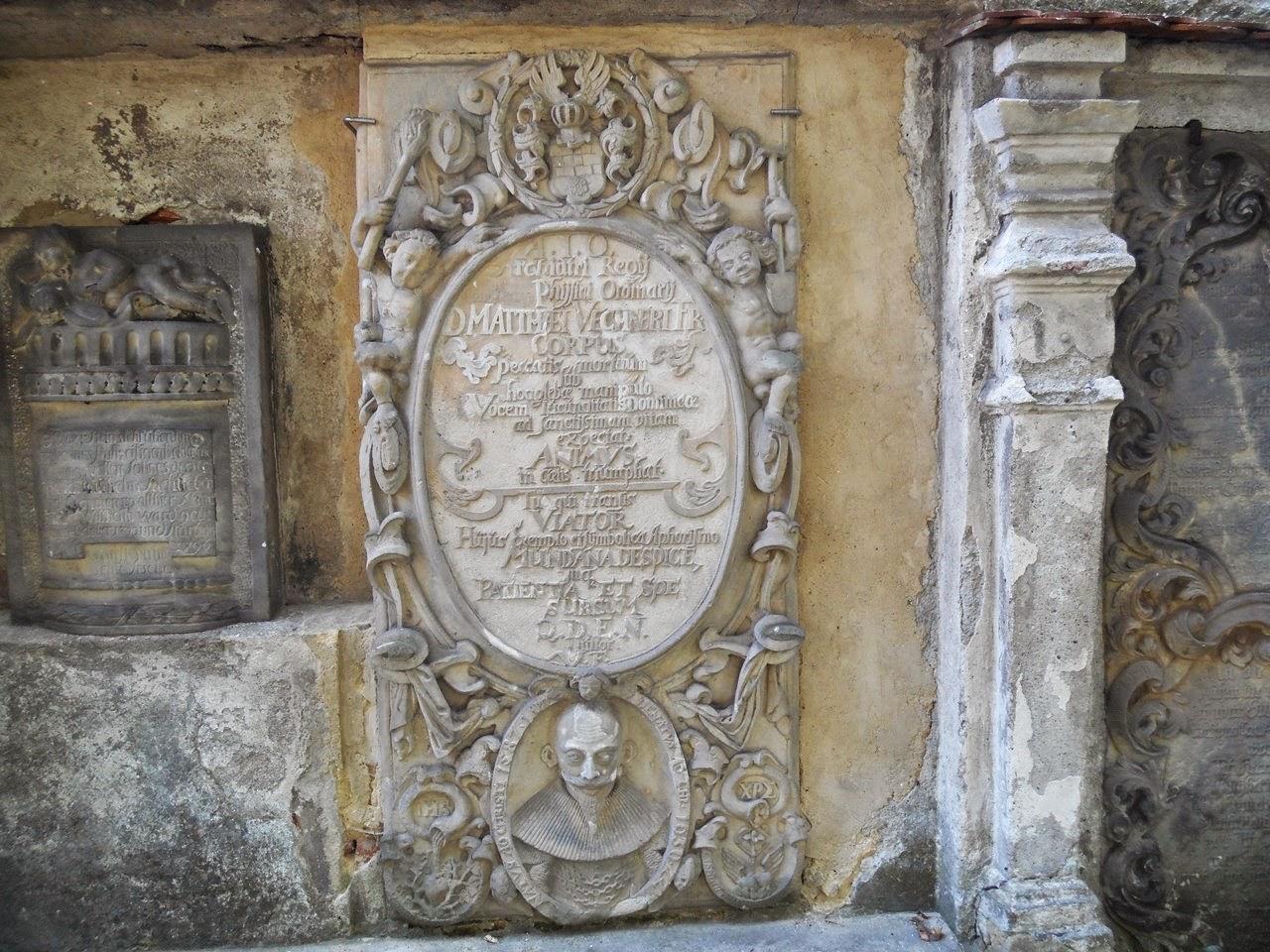 Cmentarz ewangelicki i jego zabytki.