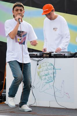Naohirock & K.A.I. On The Mic at the Setagaya Bread Festival, Ikejiri, Setagaya-ku, Tokyo.