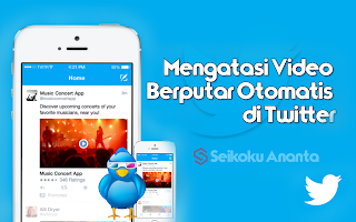 Cara Mematikan Autoplay Video di Twitter