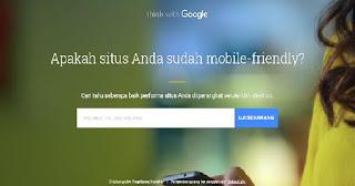 Situs Penguji Blog atau Web Agar Mobile Friendly