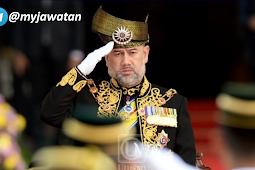 [RASMI] Sultan Muhammad V Letak Jawatan Yang di-Pertuan Agong