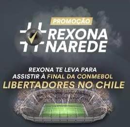 Cadastrar Nova Promoção Rexona Ingressos Libertadores Chile e Kits Rexona
