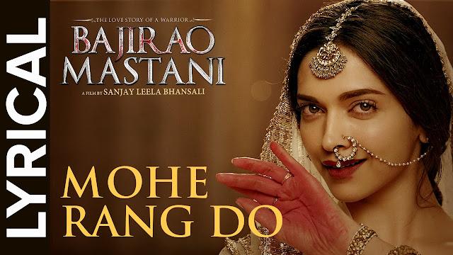 Mohe Rang Do Laal Song, Mohe Rang Do Laal lyrics