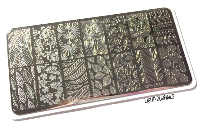 BP-L047 stamping plate at Bornprettystore