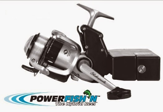 handicapped outdoors: electric fishing reels, Reel Combo
