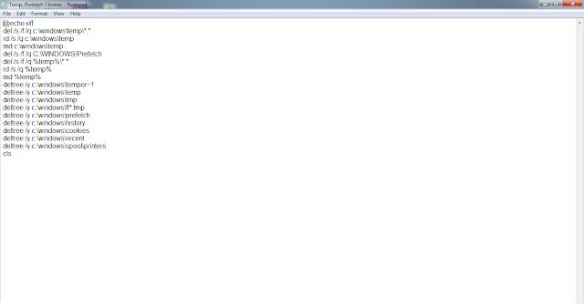 Create a Batch File to Automatically Clean Temp Folder