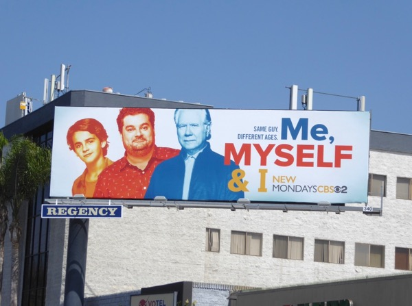 Me Myself I season 1 billboard
