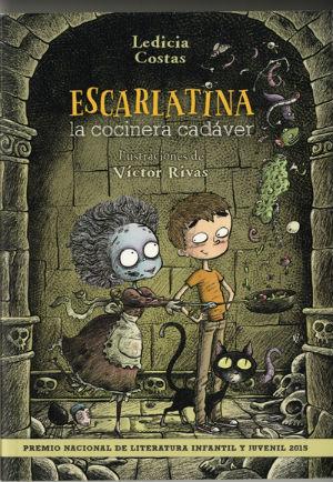 mejores cuentos y libro niños 8 a 11 años, recomendados imprescindibles, escarlatina cocinera cadaver