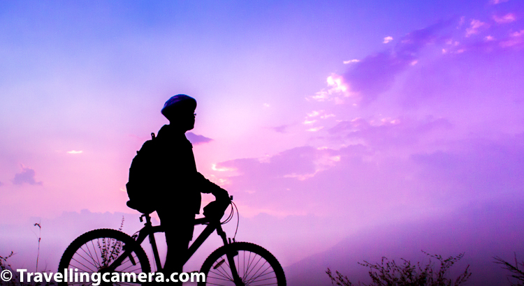 If you don't know about MTB Himalayas, MTB Himalaya is an annual mountain bike race held in the mountainous state of Himachal Pradesh, India. It started in 2005 and the race covers nearly 650 km (400 mi), 16500 metres of climbing at an average altitude of 2200 meters in a span of 8 days and is one of the toughest MTB stage races in the world. and more can be checked here - https://en.wikipedia.org/wiki/MTB_Himalaya
